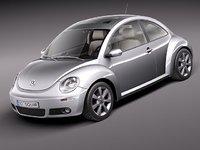 3ds max volkswagen beetle 2005 2011