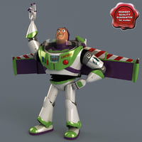 c4d buzz lightyear pose 3