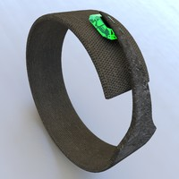 Rough Metal File - Bracelet
