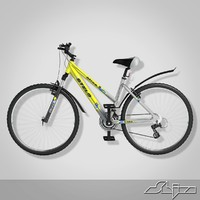 3d model bicycle stels navigator 550