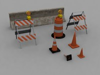 road barrier pack