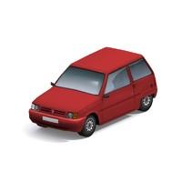 dacia car 3d model