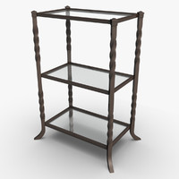 accent table 3d obj