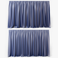 Two curtains