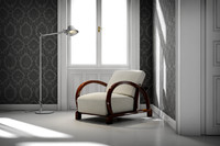 art deco chair 3ds