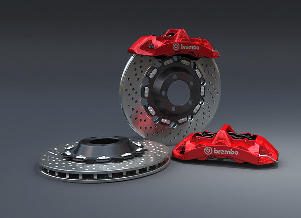 brembo racing 3d model - Brembo Racing... by Mediacreative