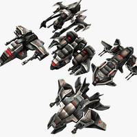 3d 5 light drones