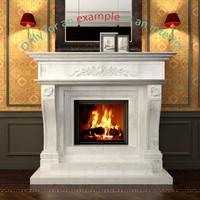 3d fireplace 23 model