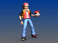 3d ash pokemon backpack poke