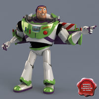 3d buzz lightyear pose 2