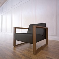 3d model of chair neutra