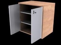 3d cabinet door model