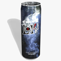Loki Brand Energy Drink Can