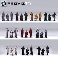 3D People: 30 Still 3D Arabic People Vol. 01