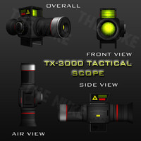 TX-3000 Tactical Scope