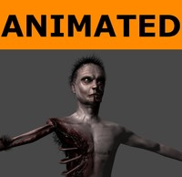 3d x ready zombie animations