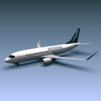 jetliner 737 3d model