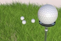 3ds max golf ball