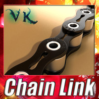 chain link 3d 3ds