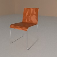 chair irony 3d 3ds