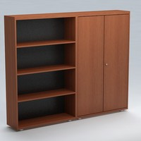free cabinet office 3d model