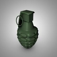 grenade fbx