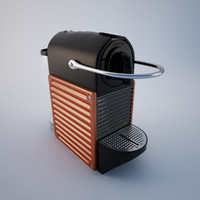 3d model of nespresso pixie