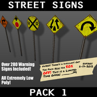 pack warning signs 3ds
