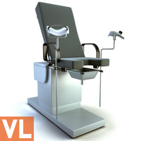 3ds max gynecological chair