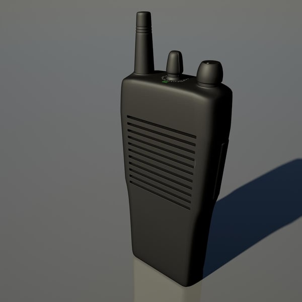 3d walkie talkie - Walkie Talkie... by TheSphinx