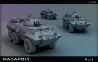 3d tank armored