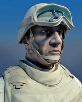 3d model marines