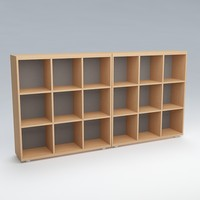 free 3ds mode bookshelves shelves books