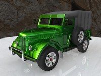 gaz69 car obj