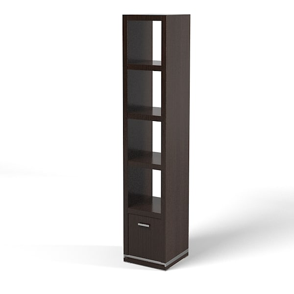 mobilidea etagere modern 3ds. Black Bedroom Furniture Sets. Home Design Ideas