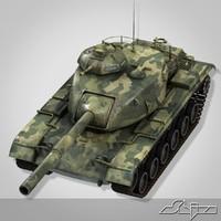 3d gun tank m60 patton
