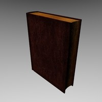 book prop games 3d obj