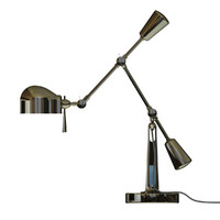 boom arm desk lamp 3d model