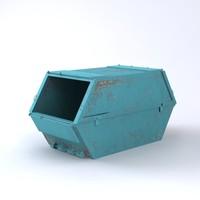 3d enclosed skip