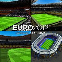 3d ukraine stadiums arena