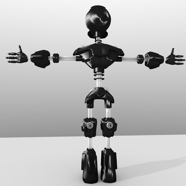 3d robot - Droid... by Yanglegend