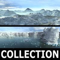 landscapes alaska antarctica max