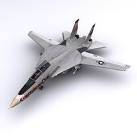 f-14 fighter jet vf-1 3ds