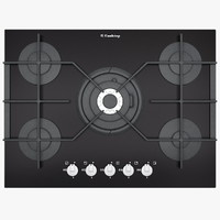 maya big gas cooktop glass
