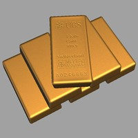 3d model swiss gold