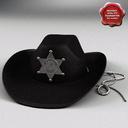 sheriff hat 3D models