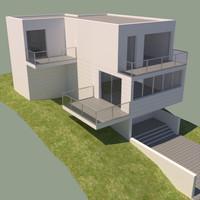 3d house contemporary