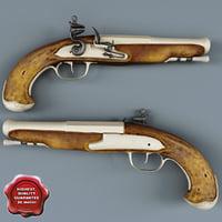 old musket pistol v2 obj