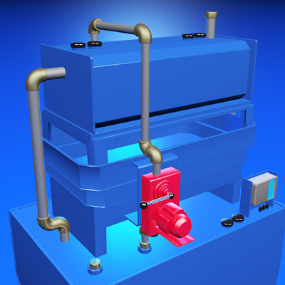 3d model tank storage - Storage tank... by 3Djoachim