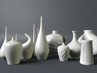 modern vase 3d c4d